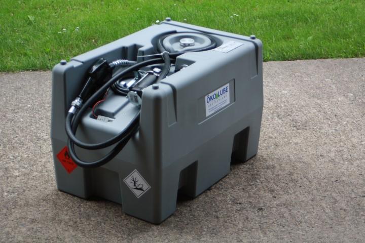 details zu mobile diesel tankstelle 400 l mit 12v pumpe. Black Bedroom Furniture Sets. Home Design Ideas