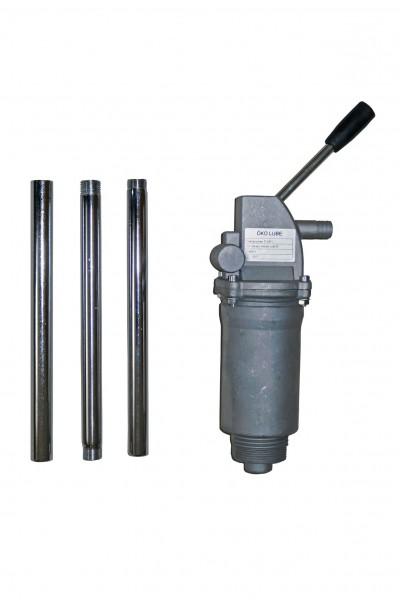 Handpumpe für Diesel und Öle, Fasspumpe