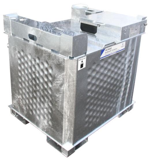 Kraftstoffcontainer Quadro - AG für Aggregate und Heizgeräte