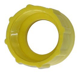 gelber Adapter für Plastikfässer