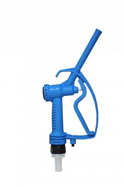 manuelle blaue Zapfpistole in blau für Harnstoff