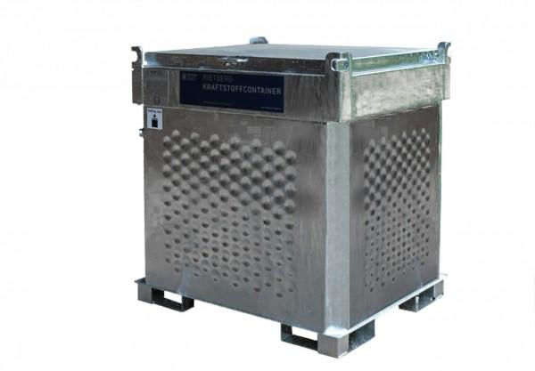 Mobiler Dieseltank Quadro-C-E einwandig