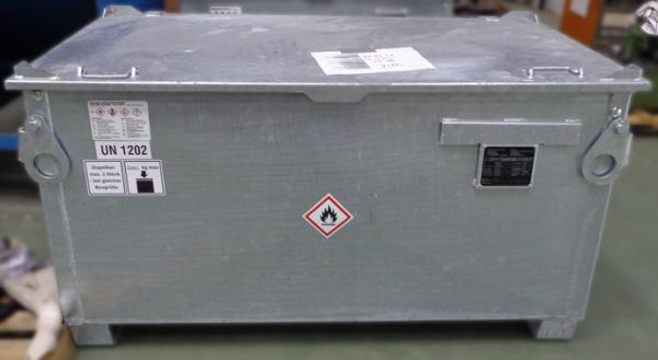 Kraftstoffbehälter KB 200 verzinkt