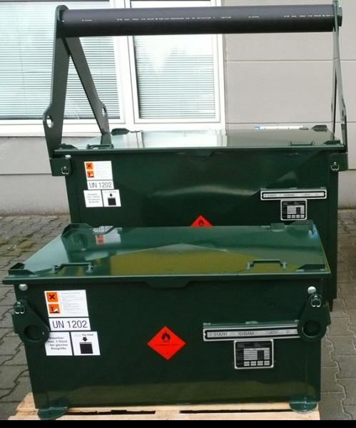Kraftstoffbehälter KB 750 mit Kranbügel