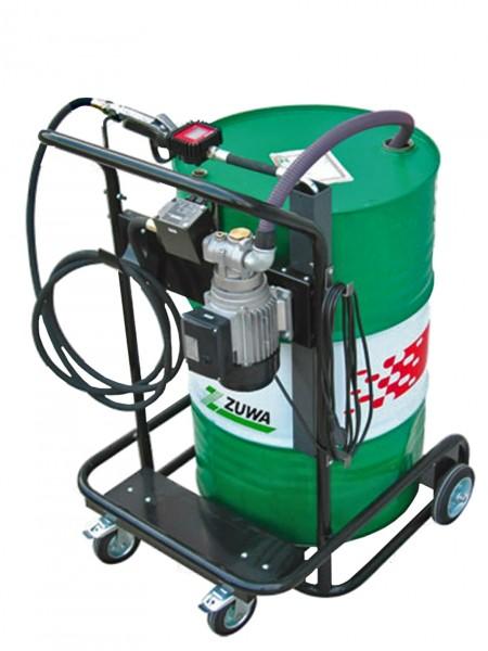 Pumpenset für Öle mit fahrbarem Fasswagen