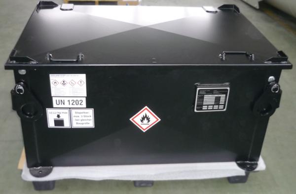 Kraftstoffbehälter KB 200 pulverbeschichtet
