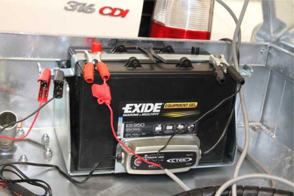 Komplette Batterie für Dieseltank Quadro C