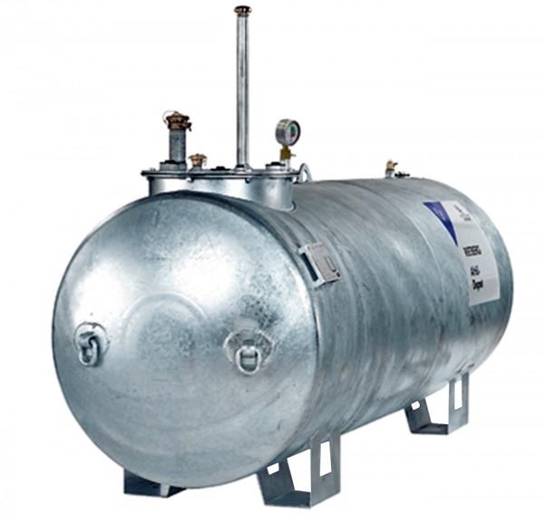 Lagertank LT-se zylindrisch mit Dom (AIII) 1500 - 10000 Liter