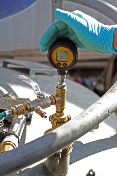 Außerordentliche Prüfung an mobilen Tankanlagen bzw. Großpackmitteln (IBC)