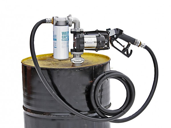 Benzinpumpe Piusi 230V 50lmin kpl. Set als Fasspumpe