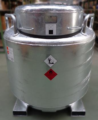 Kraftstoffbehälter LT 1000, verzinkt, mobile Tankstelle