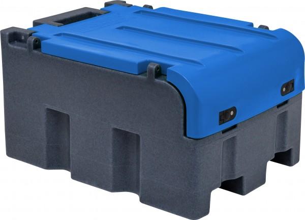 FortisBox 200 mit blauem Deckel in Seitenansicht
